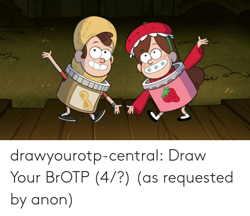 Target, Tumblr, and Blog: drawyourotp-central:  Draw Your BrOTP (4/?)  (as requested by anon)