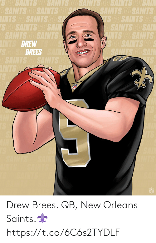 new: Drew Brees. QB, New Orleans Saints.⚜️ https://t.co/6C6s2TYDLF