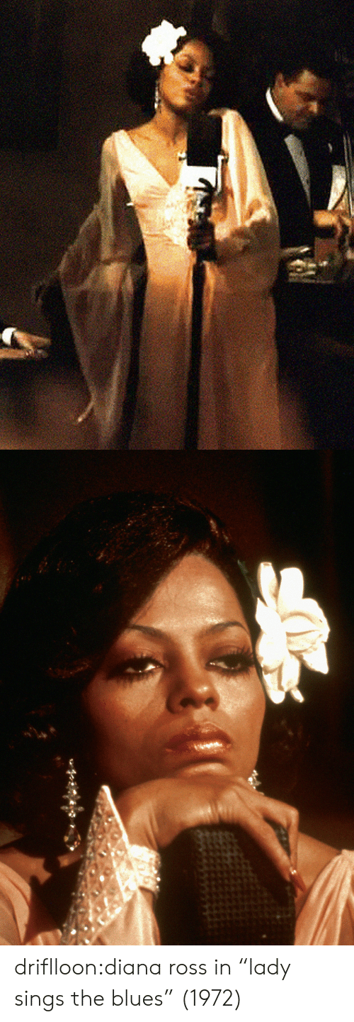 "Tumblr, Blog, and Diana Ross: driflloon:diana ross in ""lady sings the blues"" (1972)"