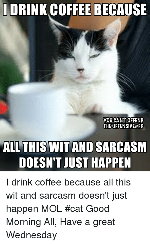 Drink Coffee Because You Cant Offend The Offensive Fb All This