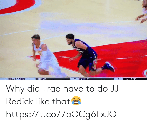 J.J. Redick, Memes, and Ducks: DUCKS  DULLS  1oT 0.22  NDA CCODES Why did Trae have to do JJ Redick like that😂 https://t.co/7bOCg6LxJO