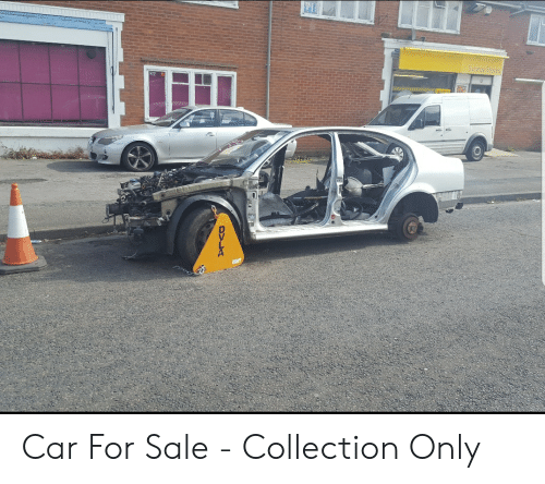 DVLA Car for Sale - Collection Only   Funny Meme on