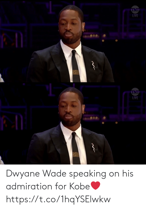 Speaking: Dwyane Wade speaking on his admiration for Kobe❤️ https://t.co/1hqYSElwkw