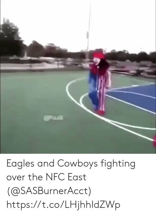 Dallas Cowboys, Philadelphia Eagles, and Football: Eagles and Cowboys fighting over the NFC East (@SASBurnerAcct) https://t.co/LHjhhIdZWp
