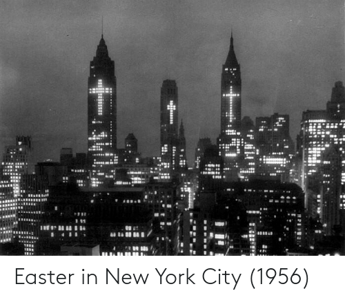 in-new-york-city: Easter in New York City (1956)
