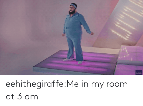 In My: eehithegiraffe:Me in my room at 3 am