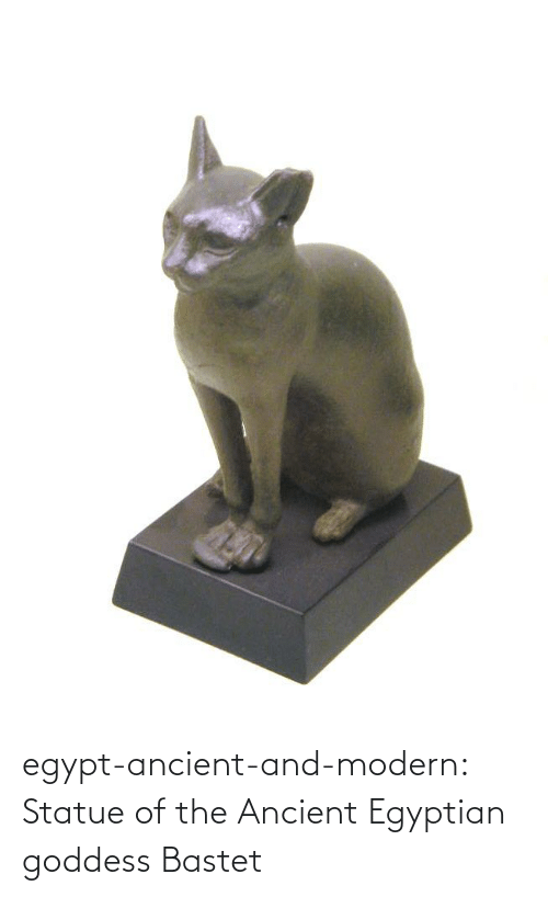 Ancient: egypt-ancient-and-modern:  Statue of the Ancient Egyptian goddess Bastet