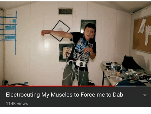 Dab: Electrocuting My Muscles to Force me to Dab  114K views