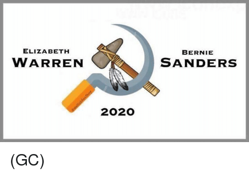 Memes, Bernie, and 🤖: ELIZA BETH  BERNIE  WARREN  SANDERS  2020 (GC)