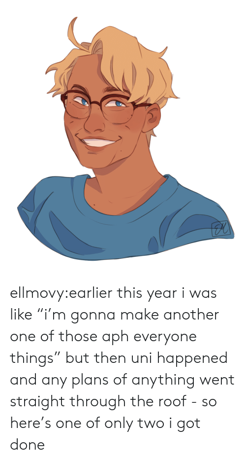 "Another One, Target, and Tumblr: ellmovy:earlier this year i was like ""i'm gonna make another one of those aph everyone things"" but then uni happened and any plans of anything went straight through the roof - so here's one of only two i got done"