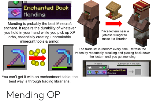 Ayla Thorpe Minecraft Enchantments List And What They Do