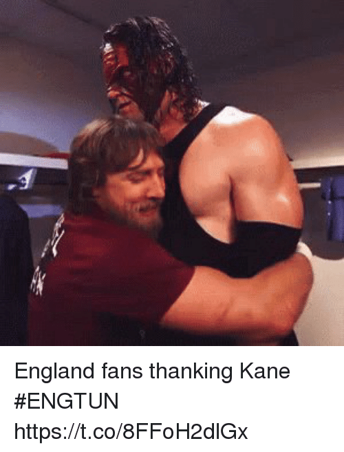 England, Soccer, and Kane: England fans thanking Kane #ENGTUN https://t.co/8FFoH2dlGx