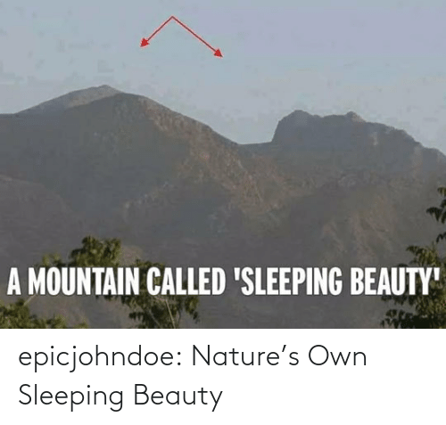 beauty: epicjohndoe:  Nature's Own Sleeping Beauty