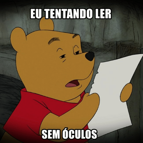 Pt-Br (Brazilian Portuguese), International, and Sem: EU TENTANDO LER  SEM OCULOS