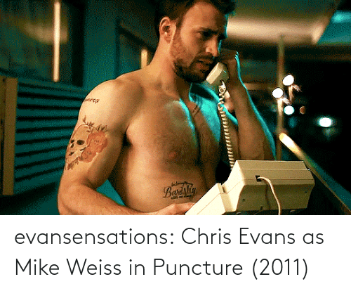 Chris Evans: evansensations:  Chris Evans as Mike Weiss in Puncture (2011)