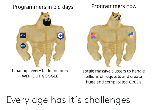 Age: Every age has it's challenges