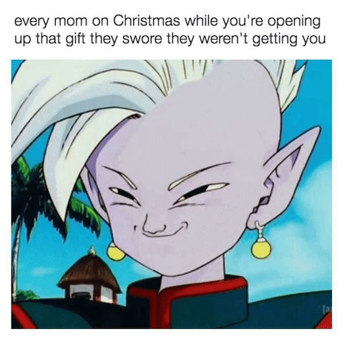 Christmas, Dank Memes, and Mom: every mom on Christmas while you're opening  up that gift they swore they weren't getting you  (a