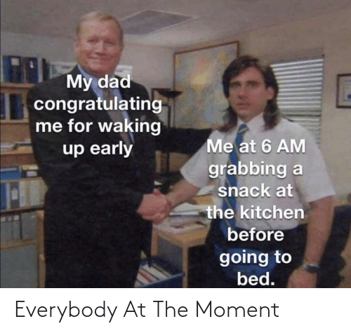 The Moment: Everybody At The Moment