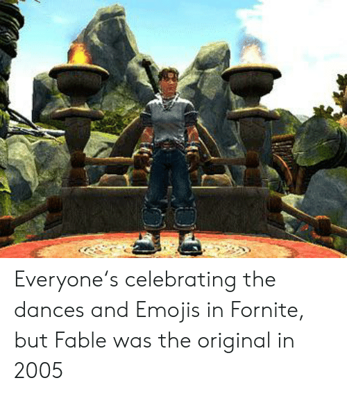 Here You Go Create Another Fable YOU WANTE TO | Fable Meme