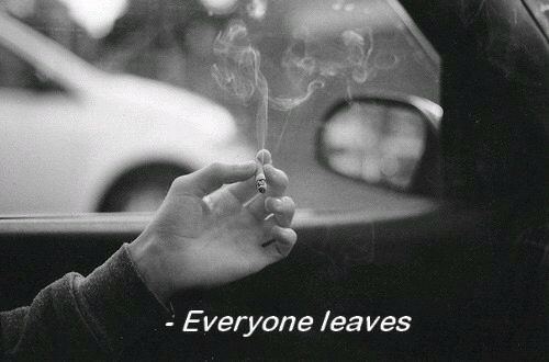 Leaves and Everyone: Everyone leaves