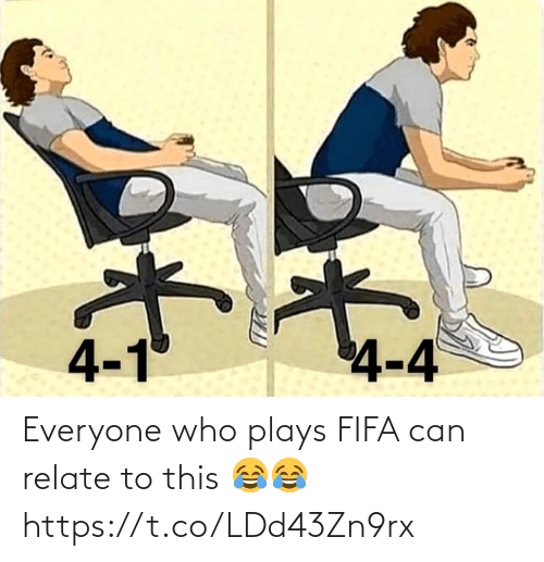 Can Relate: Everyone who plays FIFA can relate to this 😂😂 https://t.co/LDd43Zn9rx