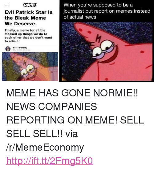 evil patrick star is the bleak meme we deserve when you re supposed