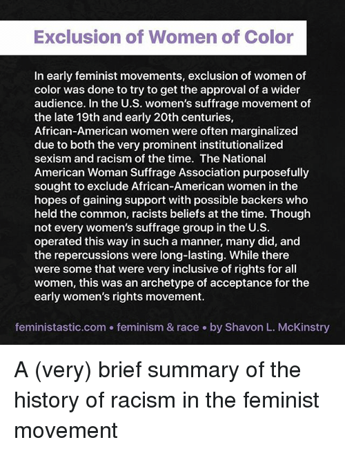 how has the feminist movement affected What feminism means today  don't put me in a box, and have a defensive reaction to the idea of calling themselves a feminist others think the women's movement.