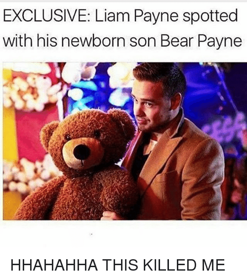 exclusive liam payne spotted with his newborn son bear payne 21156646 🦅 25 best memes about last of us 2 last of us 2 memes