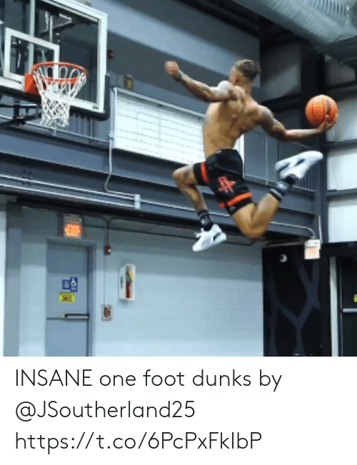foot: EXE INSANE one foot dunks by @JSoutherland25 https://t.co/6PcPxFkIbP