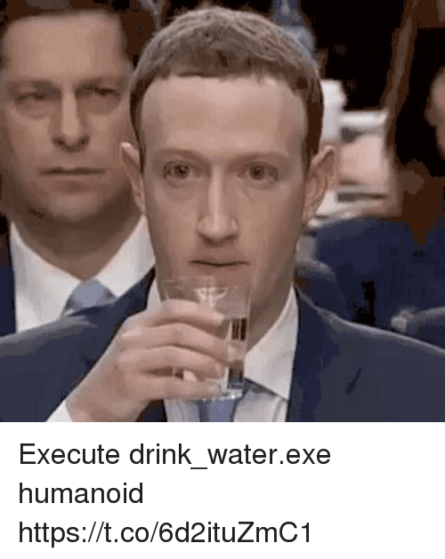 Water, Humanoid, and Drink Water: Execute  drink_water.exe  humanoid https://t.co/6d2ituZmC1