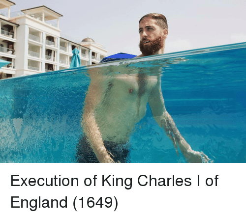 England, Charles I of England, and King: Execution of King Charles I of England (1649)