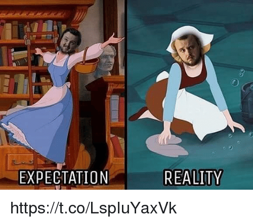 Memes, Reality, and 🤖: EXPECTATION  REALITY https://t.co/LspIuYaxVk
