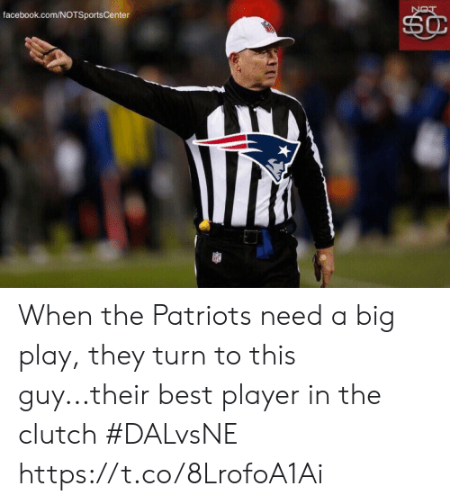 clutch: facebook.com/NOTSportsCenter  SC  LON When the Patriots need a big play, they turn to this guy...their best player in the clutch #DALvsNE https://t.co/8LrofoA1Ai