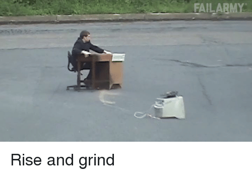 Memes, 🤖, and Grinding: FAILABME Rise and grind