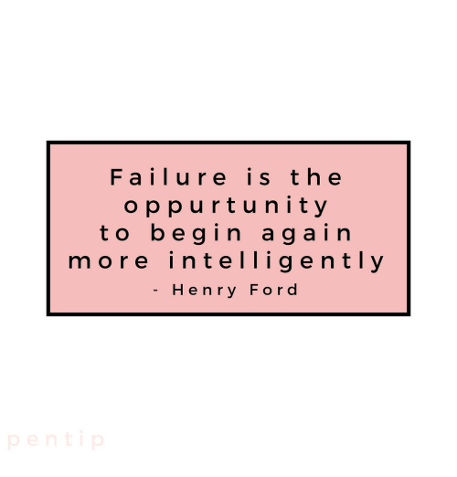 Ford, Failure, and Henry Ford: Failure is t he  oppurtunity  to begin again  more intelligently  Henry Ford