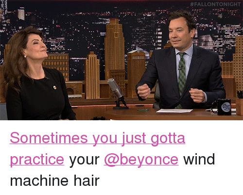 """Beyonce, Target, and Hair: <p><a href=""""http://www.nbc.com/the-tonight-show/video/nia-vardalos-my-big-fat-greek-wedding-2-is-the-next-generation/3004466"""" target=""""_blank"""">Sometimes you just gotta practice</a> your <a class=""""tumblelog"""" href=""""https://tmblr.co/mk6lf-9bhWWEsjmgc_hYknA"""" target=""""_blank"""">@beyonce</a>wind machine hair<br/></p>"""