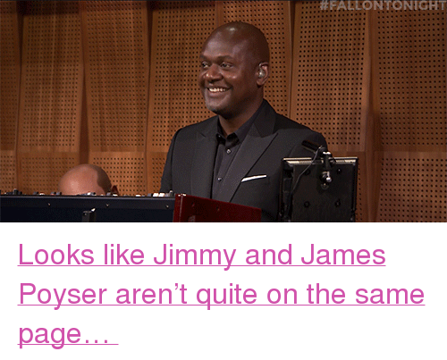 """James Poyser: <p><a href=""""https://www.youtube.com/watch?v=eizhlsAt3xA&amp;list=UU8-Th83bH_thdKZDJCrn88g&amp;index=2"""" target=""""_blank"""">Looks like Jimmy and James Poyser aren&rsquo;t quite on the same page&hellip;</a><br/></p>"""