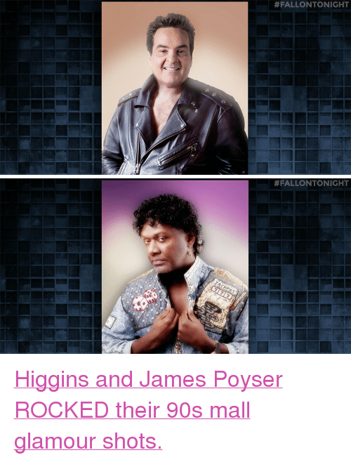 "Target, youtube.com, and Watch: <p><a href=""https://www.youtube.com/watch?v=S4M5qPaJiKc&amp;index=5&amp;list=UU8-Th83bH_thdKZDJCrn88g"" target=""_blank"">Higgins and James Poyser ROCKED their 90s mall glamour shots.</a></p>"