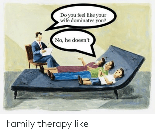 therapy: Family therapy like