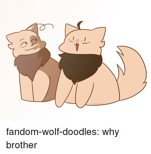 Target, Tumblr, and Blog: fandom-wolf-doodles:  why brother