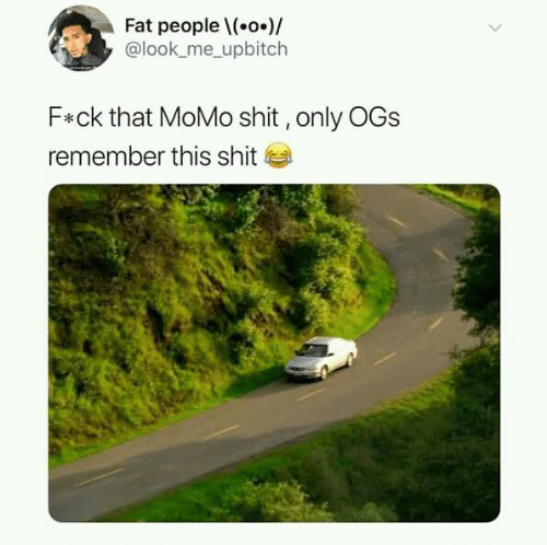 Dank, Shit, and Fat: Fat peoplel(.o.)/  @look_me_ upbitch  F*ck that MoMo shit,only OGs  remember this shit