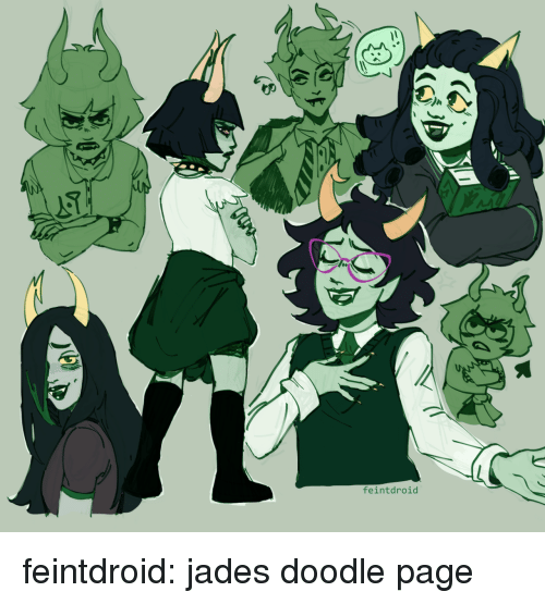 Target, Tumblr, and Blog: feintdroid feintdroid:  jades doodle page