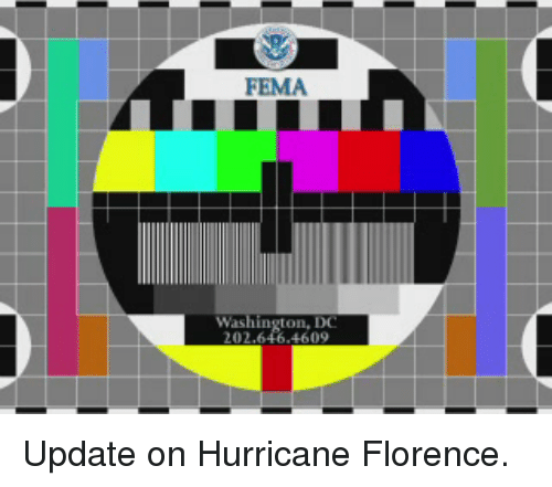 Hurricane, Washington Dc, and Washington: FEMA  Washington, DC Update on Hurricane Florence.