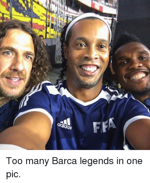 Soccer, Barca, and Legend: FFA Too many Barca legends in one pic.