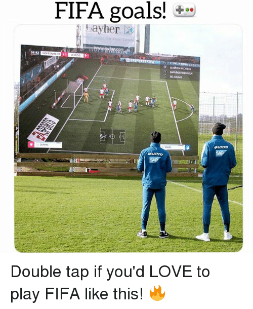 Fifa, Goals, and Love: FIFA goals!  ayher X  5642 Double tap if you'd LOVE to play FIFA like this! 🔥