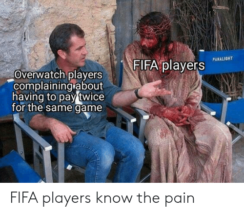 The Pain: FIFA players  PANALIGHT  Overwatch players  complaining about  having to pay twice  for the same game FIFA players know the pain