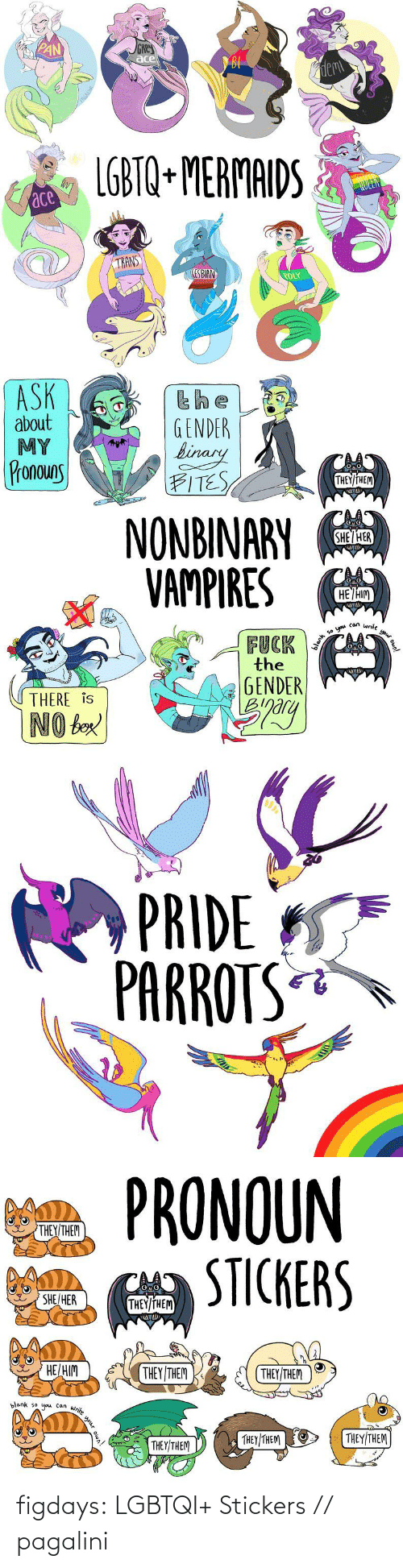 name: figdays: LGBTQI+ Stickers //  pagalini
