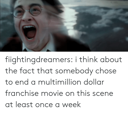 Tumblr, Blog, and Http: fiightingdreamers: i think about the fact that somebody chose to end a multimillion dollar franchise movie on this scene at least once a week