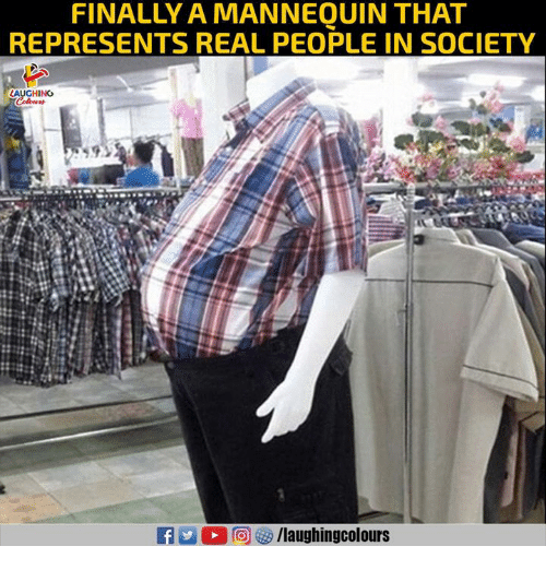 Mannequin, Indianpeoplefacebook, and Real: FINALLY A MANNEQUIN THAT  REPRESENTS REAL PEOPLE IN SOCIETY  LAUGHING  /laughingcolours