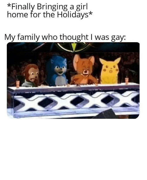 Bad, Family, and Girl: Finally Bringing a girl  home for the Holidays*  My family who thought I was gay: No one will think you're gay if you invest in this bad larry! via /r/MemeEconomy http://bit.ly/2MLZg33